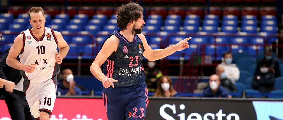 Sergio Llull reaches 3.000 points in Euroleague